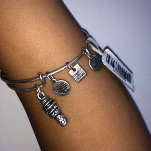Ice Cream Cone Alex and Ani Bracelet